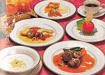 地元で採れた高原野菜をふんだんに使ったイタリア料理