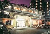 【外観】温泉街の中心に佇む全15室の和風旅館 平成3年に全て立て直しました。