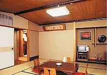 清潔に保たれた純和風のお部屋