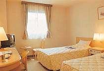 ◎お部屋の広さは21平米ツインルーム