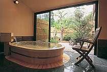 露天風呂付き客室(203号室[紅葉])メゾネットタイプ