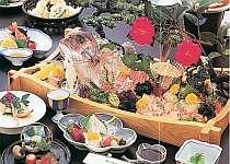 『鳴門鯛』舟盛り海鮮料理プラン【1室4名以上】
