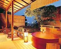 *素翁亭/信楽焼き露天風呂付客室。お部屋の露天風呂も自家源泉!※写真はイメージです