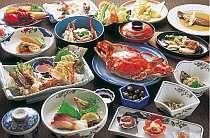 社長「竹崎かにをはじめ、料理はとにかくこだわってます!」夕食一例