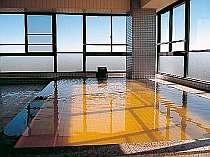 九十九里浜が一望できる展望温泉