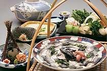 【ボク鍋】湖北の郷土料理~全室半露天風呂付客室で寛ぐプラン~