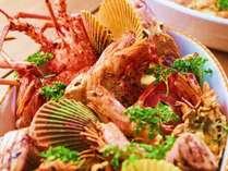 魚ベルジュ自慢のビュッフェは旬を堪能できる品々