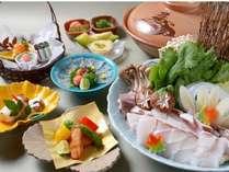 【天然モノ!】 幻の高級魚★天然九絵鍋コース※写真はイメージです