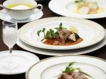 豊富な宮城の食材をふんだんに取り入れたフレンチレストラン「セラン」の特別ディナー