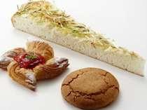 パン職人が作るホテルメイドのパン。宮城の食材をアレンジしました