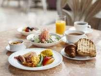 【朝食】盛り付け一例(洋食)