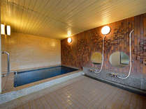 ■大浴場 男女別で完備していますので、散策・お仕事のあとにリフレッシュできます!