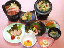 ≪9月~11月≫柿の白和えに柔らか大和ポークの鍋など全10品の「花会席」