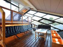 ■リラックス施設 展望室からは史跡「頭塔(ずとう)」などの景観が望めます。