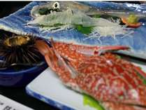 ワタリカニ、ウニ、イカ、呼子の旬の食材をご賞味ください。