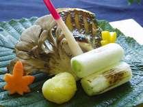 舞茸と川魚の焼き物(イメージ)