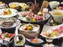 人気の【海席遊膳】プランの料理一例