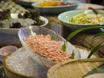 季一遊・大好評の朝食バイキング料理。和洋40種より…
