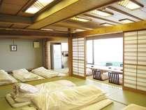 客室一例 和室です。一間、二間の2タイプをご用意しております。