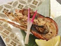 2018年10月から【ちょっと贅沢な一品料理】夕食に伊勢海老の鬼殻焼き付1泊2食バイキングプラン