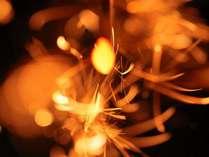 【日本の風物詩】貴重な国産の線香花火の美しさ◆★線香花火★付プラン