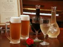 期間限定♪まずは樽生で乾杯!後はワイン飲み放題(ソフトドリンクも)!楽しく飲もうよ♪太っ腹プラン!