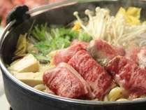 ★すき焼きプラン たっぷりのお肉をお野菜と共に・・・
