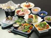 ★スタンダード夕食料理 日替わりで地元食材盛りだくさん