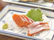 ◆期間限定◆ 【信州サーモンの刺身付き】川魚を味う一泊2食付プラン
