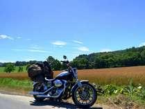 自然豊かな北信州をバイクで爽快に!お泊りはふぶきがオススメ♪