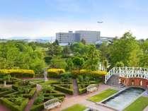 大自然に囲まれた広島エアポートホテル