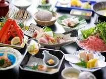海と山に囲まれた皆生温泉は季節毎の「美味」がいっぱい♪素材にこだわった料理でおもてなしいたします。