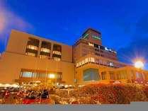 岡山プラザホテル外観