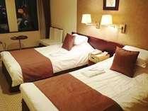 ツイン:後楽園、岡山城側のお部屋です。