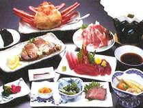 *【夕食一例】新鮮なマグロを中心とした海の幸満載のお料理!