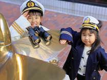 ■船員服☆無料貸し出し■エスカル横浜に来たら是非写真に納めたい一枚♪ロビーにて気軽にお声かけ下さい!