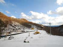 *お部屋からの景色。冬はまっしろな銀世界が広がります!