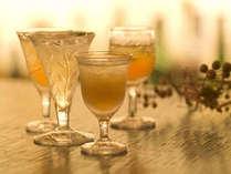 *リゾートにぴったりのお酒をお楽しみ下さい。