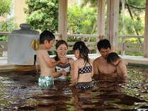 家族みんなで温泉をゆったりお楽しみください。