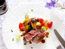 *【夕食一例】牛フィレステーキ