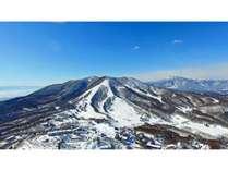 斑尾高原スキー場全景