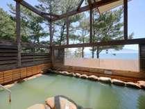 かけ流しの源泉湯「知林の湯」