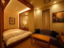 501(スーペリアタイプ)お部屋は広々大型テレビもあり、ゆったり過ごせます