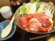 【スタンダード】人気No.1!これが小川屋の基本です☆ブランド牛のすき鍋プラン◆個室食◆