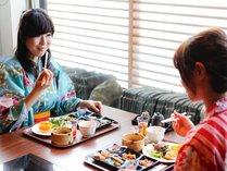 【朝食】ご馳走ビュッフェで朝から満腹満足♪