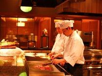 【穀厨】目の前で調理し出来立てをお出します。