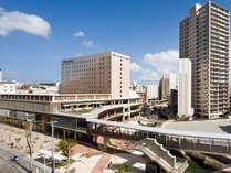 ホテルはゆいレール牧志駅直結!那覇空港への移動も楽ちん♪国際通りにも面しており観光にも最適♪