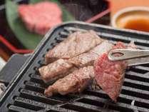 *【夕食一例】榊/草子:松阪牛鉄板焼