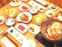 美味!きのこ鍋が楽しめるお料理一例