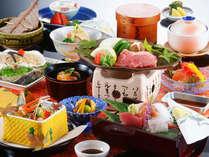 【会席一例】新鮮な海の幸と、滋味深い山の幸が豊富に採れる但東町ならではのお料理を堪能!